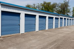 Newcastle self storage in mini garage units